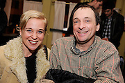 Kristen Hersh and Vic Chesnutt photographed at the afterparty for The Music of R.E.M. at Carnegie Hall held at City Winery, NYC.