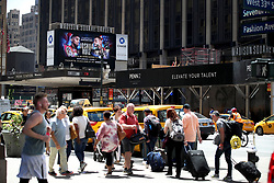 A general view of Madison Square Garden in New York.