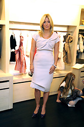 PRINCESS MARIE-CHANTAL OF GREECE  at a party to celebrate the opening of her store 'Marie-Chantal' 133A Sloane Street, London on 14th October 2008.