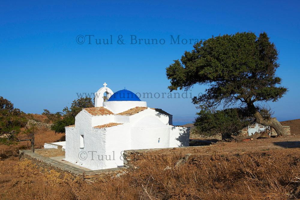 Grece, Cyclades, ile de Kea, eglise Agii Apostoli // Greece, Cyclades island, Kea island, Agii Apostoli church
