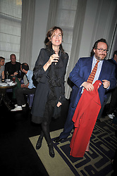INDIA JANE BIRLEY and ADAM BRAY at a party to celebrate the publication of Stephanie Theobold's book 'A Partial Indulgence' held at the Langham Hotel, Portland Place, London on 21st April 2009.