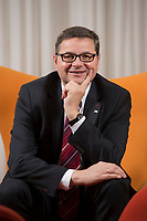 23 OCT 2014, BERLIN/GERMANY:<br /> Gerd Deimel, Vice President und Leiter Global Logistics Management LANXESS Deutschland GmbH, Hotel Intercontinental<br /> IMAGE: 20141023-02-036