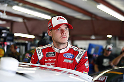 July 20, 2018 - Loudon, New Hampshire, United States of America - Ryan Reed (16) hangs out in the garage during practice for the Lakes Region 200 at New Hampshire Motor Speedway in Loudon, New Hampshire. (Credit Image: © Justin R. Noe Asp Inc/ASP via ZUMA Wire)