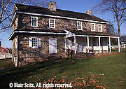House began as log house (1730), Daniel Boone was born here in 1734, Daniel Boone's homestead, Berks Co., PA Daniel Boone Homestead, Berks Co., PA