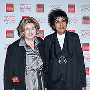 Moira Stuart arrivers at the Broadcasting Press Guild TV & Radio Awards, at Banking Hall, on 13th March 2020, London, UK