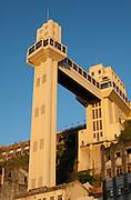 Salvador_BA, Brasil.<br /> <br /> Elevador Lacerda em Salvador que liga a cidade baixa a cidade alta, Bahia.<br /> <br /> Lacerda elevator, has connected the two sections since 1873, Bahia.<br /> <br /> Foto: RODRIGO LIMA / NITRO.