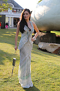 REBECCA WANG, 2014 Serpentine's summer party sponsored by Brioni.with a pavilion designed this year by Chilean architect Smiljan Radic Kensington Gdns. London. 1July 2014