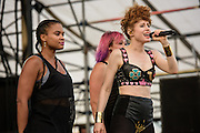 Photos of Kiesza performing live during the Billboard Hot 100 Music Festival at Nikon at Jones Beach Theatre in Wantagh, NY. August 23, 2015. Copyright © 2015. Matthew Eisman. All Rights Reserved