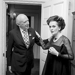 20 June 1974 - Margaret, Duchess of Argyll and Sir Cecil Beaton at a party in London.<br /> <br /> Photo by Desmond O'Neill Features Ltd.  +44(0)1306 731608  www.donfeatures.com