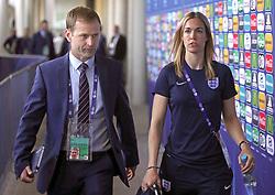 FA Head of Elite Development Dan Ashworth and Sport Psychologist Rebecca Symes