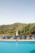 Cyprus, Lysos, the swimming poll at Paradisos Hills Hotel