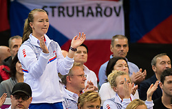 November 10, 2018 - Prague, Czech Republic - Team Czech Republic at the 2018 Fed Cup Final between the Czech Republic and the United States of America (Credit Image: © AFP7 via ZUMA Wire)