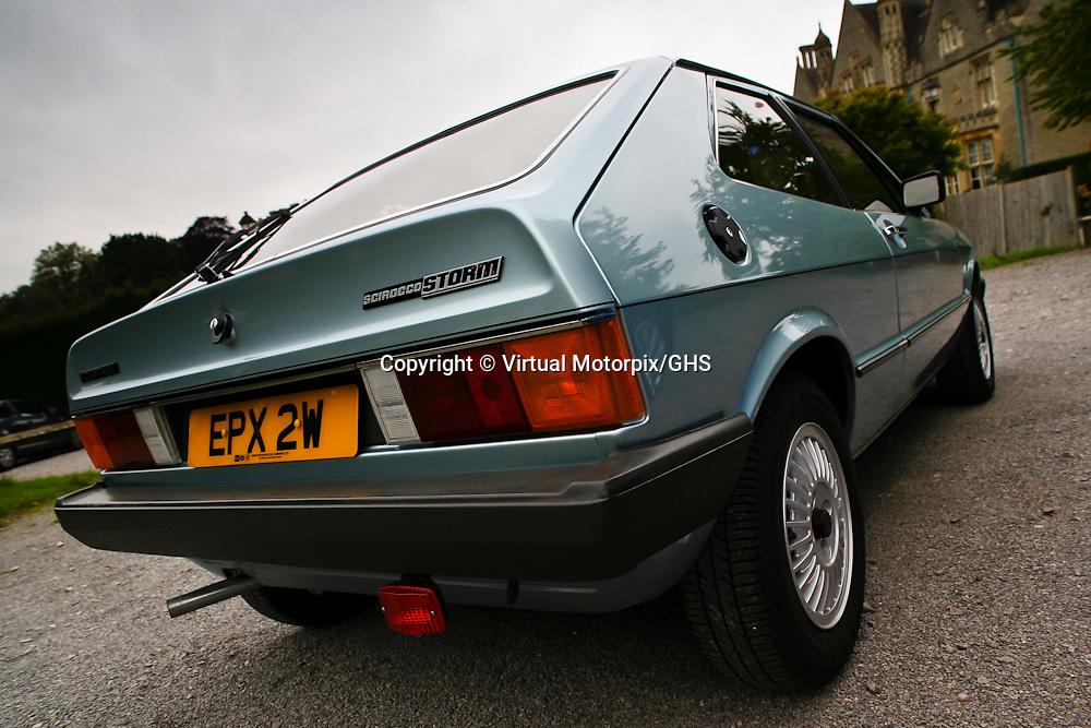 VW Scirocco Storm (1981), United Kingdom