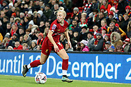Liverpool women forward Ashley Hodson (14) during the FA Women's Super League match between Liverpool Women and Everton Women at Anfield, Liverpool, England on 17 November 2019.