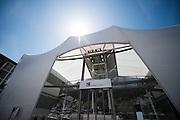 May 25-29, 2016: Monaco Grand Prix. Sauber motorhome