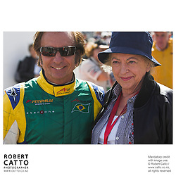 Emerson Fittipaldi;Pat McLaren at the A1 Grand Prix of New Zealand at the Taupo Motorsport Park, Taupo, New Zealand.