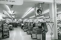 1976 Interior of Hollywood Ranch Market on Vine St.
