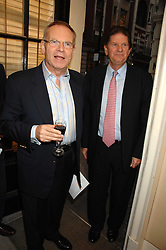 Left to right, LORD ARCHER and JOHN MADEJSKI  at  a Private view of 'Terence Donovan: Image Maker And Innovator' at the Chris Beetles Gallery, 8 & 10 Ryder Street, London SW1 on 17th September 2007.<br /><br />NON EXCLUSIVE - WORLD RIGHTS