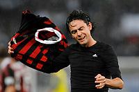 """Filippo INZAGHI Milan<br /> Roma 8/11/2009 Stadio """"Olimpico""""<br /> Lazio Milan 1-2<br /> Campionato Italiano Serie A 2009/2010<br /> Foto Andrea Staccioli Insidefoto"""