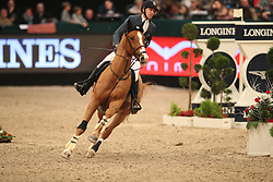Delestre Simon, (FRA), Chesall<br /> Longines FEI World Cup presented by Sparkasse<br /> Sparkasen Cup-Grand Prix of Leipzig<br /> CSIO Leipzig 2016<br /> © Hippo Foto - Stefan Lafrentz