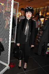 KELLY OSBOURNE at a party to celebrate the opening of the new H&M store at 234 Regent Street, London on 13th February 2008.<br /><br />NON EXCLUSIVE - WORLD RIGHTS