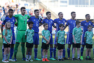 Israel players during the UEFA European Under 17 Championship 2018 match between England and Israel at Proact Stadium, Whittington Moor, United Kingdom on 4 May 2018. Picture by Mick Haynes.