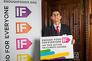 Phil Bloomer - Oxfam supporting the Enough Food for Everyone?IF campaign. .MP's and Peers attended the parliamentary launch of the IF campaign in the State Rooms of Speakers House, Palace of Westminster. London, UK.