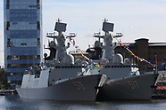 China People's Liberation Army Navy Type 054A Frigates