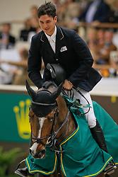 Guerdat Steve (SUI) - Tresor V<br /> Winner Round 2<br /> Rolex FEI World Cup Final - Geneve 2010<br /> © Dirk Caremans