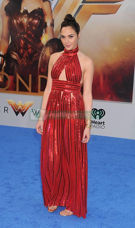 May 26, 2017 - Los Angeles, California, USA - 5/25/17.Gal Gadot at the premiere of ''Wonder Woman'' in Hollywood, CA. (Credit Image: © Starmax/Newscom via ZUMA Press)