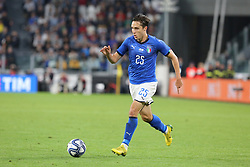 June 4, 2018 - Turin, Piedmont, Italy - Federico Chiesa (Italy) during the friendly football match between Italy and Holland at Allianz Stadium on June 04, 2018 in Turin, Italy. Final result: 1-1  (Credit Image: © Massimiliano Ferraro/NurPhoto via ZUMA Press)