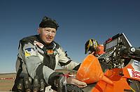 Motor - Paris Dakar 2003 - 120103<br /> Pål Anders Ullevålseter fra Norge<br /> Foto: Fredric Le Floc, Digitalsport