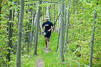 Noquemanon Trail Network,NTN, Twin Peaks Trail Run 2009, Marquette, Michigan