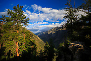Blodgett Canyon overlook near Hamilton, Montana