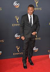 Cuba Gooding Jr. bei der Verleihung der 68. Primetime Emmy Awards in Los Angeles / 180916<br /> <br /> *** 68th Primetime Emmy Awards in Los Angeles, California on September 18th, 2016***