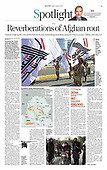 August 22, 2021 - ASIA-PACIFIC: Front-page: Today's Newspapers In Asia-Pacific
