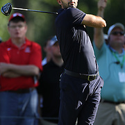 Cameron Tringale, USA, in action during the fourth round of theThe Barclays Golf Tournament at The Ridgewood Country Club, Paramus, New Jersey, USA. 24th August 2014. Photo Tim Clayton