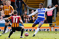 Reading's Nathaniel Chalobah clears the ball - Photo mandatory by-line: Matt McNulty/JMP - Mobile: 07966 386802 - 07/03/2015 - SPORT - Football - Bradford - Valley Parade - Bradford City vReading - FA Cup - Quarter Final
