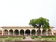 Great Hall in the Fort of Agra, front view