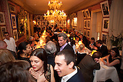 CHARLOTTE CASIRAGHI, Graydon Carter hosts a diner for Tom Ford to celebrate the London premiere of ' A Single Man' Harry's Bar. South Audley St. London. 1 February 2010
