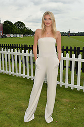 LILY DONALDSON at the Cartier Queen's Cup Final 2016 held at Guards Polo Club, Smiths Lawn, Windsor Great Park, Egham, Surry on 11th June 2016.