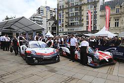 June 11, 2018 - Le Mans, FRANCE - 7 TOYOTA GAZOO RACING (JPN) TOYOTA TS050 HYBRID LMP1 MIKE CONWAY (GBR) JOSE MARIA LOPEZ (ARG) KAMUI KOBAYASHI  (Credit Image: © Panoramic via ZUMA Press)