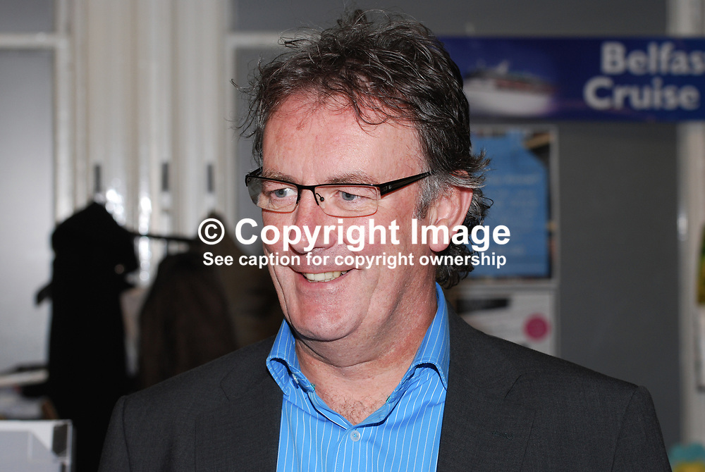 Mike Nesbitt, N Ireland, UK, radio & TV broadcaster, BBC, UTV, Anglia. In 2008 he was appointed Commissioner of Victims and Survivors. 200910163112<br /> <br /> Copyright Image from Victor Patterson, Belfast, UK<br /> <br /> t: +44 28 9066 1296 (from Rep of Ireland 048 9066 1296)<br /> m: +44 7802 353836<br /> e: victorpattersonbelfast@gmail.com<br /> <br /> www.images4media.com<br /> <br /> Please see my full Terms and Conditions of Use at https://www.images4media.com/p/terms-conditions - it is IMPORTANT that you familiarise yourself with them.<br /> <br /> Images used online incur an additional cost. This cost should be agreed in writing in advance. Online images must be visibly watermarked i.e. © Victor Patterson or that of the named photographer within the body of the image. The original metadata must not be deleted from images used online.<br /> <br /> This image is only available for the use of the download recipient i.e. television station, newspaper, magazine, book publisher, etc, and must not be passed on to a third party. It is also downloaded on condition that each and every usage is notified within 7 days to victorpattersonbelfast@gmail.com.<br /> <br /> The right of Victor Patterson (or the named photographer) to be identified as the author is asserted in accordance with The Copyright Designs And Patents Act (1988). All moral rights are asserted.