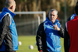 January 6, 2018 - Cadiz, SPAIN - Mouscron's head coach Mircea Rednic pictured during the first day of the winter training camp of Belgian first division soccer team Royal Excel Mouscron, in Cadiz, Spain, Saturday 06 January 2018. BELGA PHOTO BRUNO FAHY (Credit Image: © Bruno Fahy/Belga via ZUMA Press)