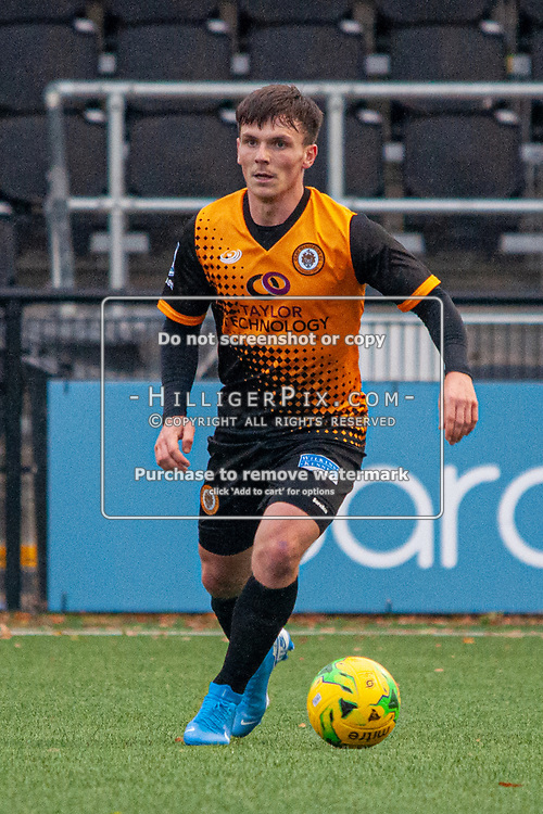BROMLEY, UK - NOVEMBER 02: Tom Carlse, of Cray Wanderers FC, during the BetVictor Isthmian Premier League match between Cray Wanderers and Worthing at Hayes Lane on November 2, 2019 in Bromley, UK. <br /> (Photo: Jon Hilliger)