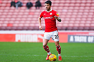 Daniel Pinillos of Barnsley (23) in action during the EFL Sky Bet League 1 match between Barnsley and Wycombe Wanderers at Oakwell, Barnsley, England on 16 February 2019.