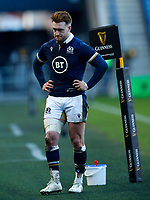 Rugby Union - 2021 Guinness Six Nations - Round Four - Scotland vs Ireland - Murrayfield<br /> <br /> Stuart Hogg of Scotland reacts after the match at Murrayfield <br /> <br /> Credit COLORSPORT/LYNNE CAMERON