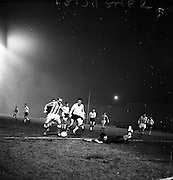 12/02/1963<br /> 02/12/1963<br /> 12 February 1963<br /> Stoke City v Shamrock Rovers/Bohemians at Dalymount Park, Dublin.