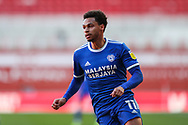 Portrait of Cardiff City midfielder Josh Murphy (11) during the EFL Sky Bet Championship match between Middlesbrough and Cardiff City at the Riverside Stadium, Middlesbrough, England on 27 February 2021.