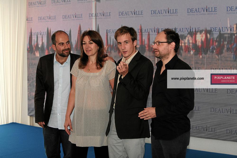 Denis Podalydès - Marc Fitoussi , Valérie Benguigui - 33 ème festival du film américain de deauville - 2/08/2007 - JSB / PixPlanete